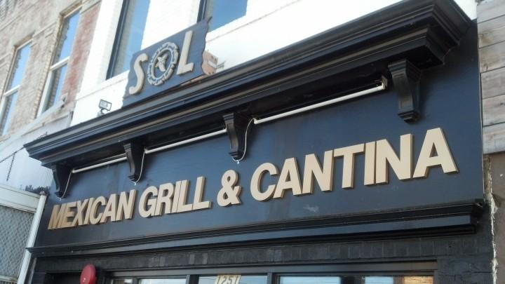 Sol Cantina Sign
